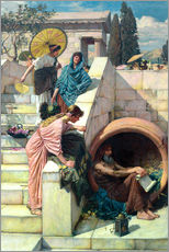 Gallery Print  Diogenes - John William Waterhouse