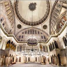 Gallery Print  Blue Mosque Interior