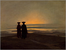 Gallery Print  Abendlandschaft - Caspar David Friedrich