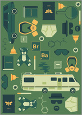 Gallery Print  Breaking Bad - Tracie Andrews