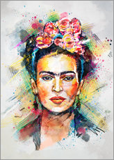 Wandsticker  Frida Flower Pop - Tracie Andrews