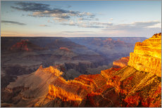 Gallery Print  Sonnenuntergang am Grand Canyon South Rim, USA - Matteo Colombo
