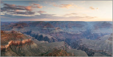 Gallery Print  Panorama-Sonnenaufgang von Grand Canyon, Arizona, USA - Matteo Colombo