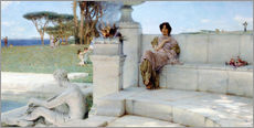 Gallery Print  Die Stimme des Frühlings - Lawrence Alma-Tadema