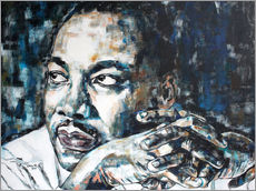 Gallery Print  Martin Luther King - Christel Roelandt