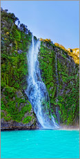 Gallery Print  Neuseeland Milford Sound Stirling Falls - Michael Rucker