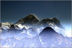 Gallery Print  Everest Gipfel - Gerhard Albicker