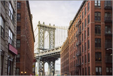 Gallery Print  Manhattan Bridge in New York - Felix Pergande