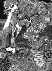 Gallery Print  Morella - Harry Clarke