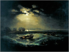 Gallery Print  Fischer auf See - Joseph Mallord William Turner
