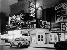 Wandsticker  Cotton Club in Harlem, New York