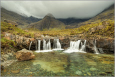 Gallery Print  Fairy Pools, Isle of Skye, Schottland - Michael Valjak