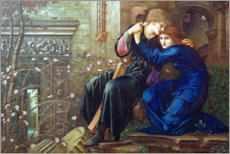 Premium-Poster  Liebe in den Ruinen - Edward Burne-Jones
