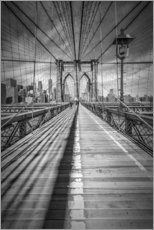 Wandaufkleber  NEW YORK CITY Brooklyn Bridge - Melanie Viola