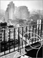 Gallery Print  New York: Blick vom Penthouse, 56 Seventh Avenue, Manhattan - Christian Müringer