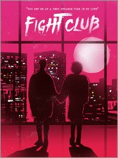 Gallery Print  Fight Club (Englisch) - 2ToastDesign