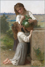 Gallery Print  Am Brunnen - William Adolphe Bouguereau