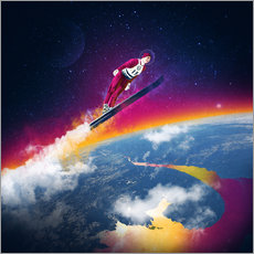 Gallery Print  One Giant Leap - Stoddartist