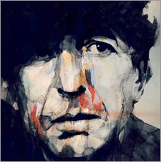 Wandsticker  Leonard Cohen   Hey That's No Way To Say Goodbye - Paul Lovering