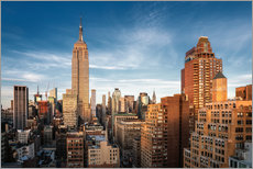 Gallery Print  Empire State Building New York - Dennis Fischer