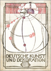 Wandsticker  Deutsche Kunst und Dekoration - Margaret MacDonald Mackintosh