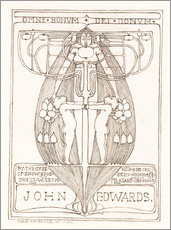 Gallery Print  Design für ein Buch - Margaret MacDonald Mackintosh
