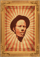 Wandsticker  Tom Waits - Durro Art