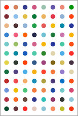 Gallery Print  Damien Tribute - Bunte Polkadots - THE USUAL DESIGNERS