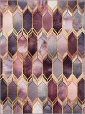 Gallery Print  Dreamy Stained Glass - Elisabeth Fredriksson