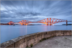 Wandsticker  Edinburgh Forth Bridge - Michael Valjak