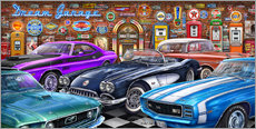 Gallery Print  Dream Garage II - Michael Fishel