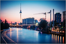 Wandsticker Berlin Skyline