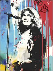 Gallery Print  Robert plant led zeppelin art - 2ToastDesign