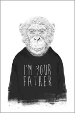 Wandaufkleber  I'm your father - Balazs Solti