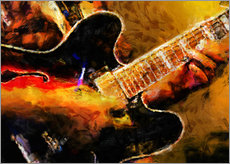 Gallery Print  Bluesmusiker - colosseum