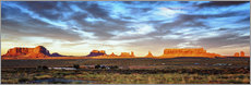 Gallery Print  Monument Valley-Panorama - Marcus Sielaff