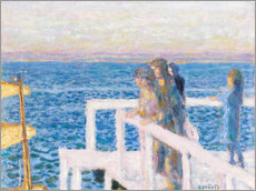 Gallery Print  Das Dock in Cannes - Pierre Bonnard