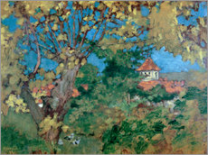 Wandsticker  Das Haus in Grand-Lemps - Pierre Bonnard