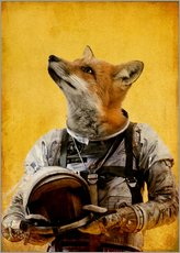 Gallery Print  Space fox - Durro Art