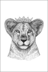 Wandsticker  The lion prince - Valeriya Korenkova