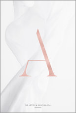 Wandsticker  ROSE GOLD LETTER COLLECTION A - Stephanie Wünsche