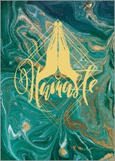 Wandsticker  Namaste - Mandy Reinmuth