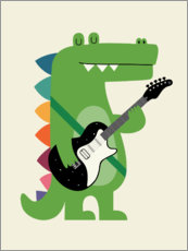 Wandsticker  Croco Rock - Andy Westface