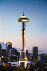 Gallery Print  Die Space Needle, Seattle, USA - Matteo Colombo