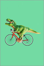 Gallery Print  BIKE T REX - Jonas Loose