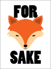 Wandsticker  For fox sake - Creative Angel