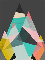 Gallery Print  GEO MOUNTAINS - Susana Paz