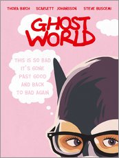 Wandsticker  Ghost World (Englisch) - Golden Planet Prints