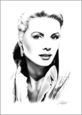 Wandaufkleber  Hollywood Diva - Grace Kelly - Dirk Richter