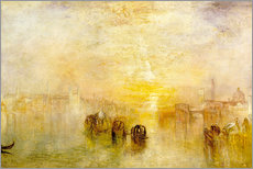 Gallery Print  Zum Ball gehen (San Martino) - Joseph Mallord William Turner